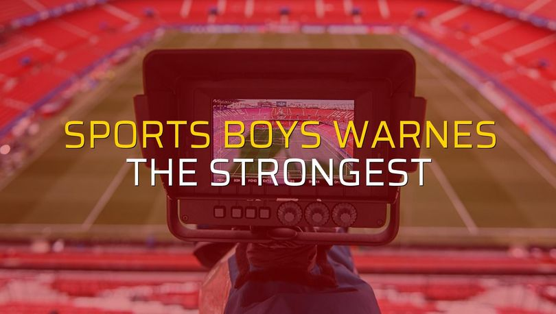 Sports Boys Warnes - The Strongest maçı istatistikleri