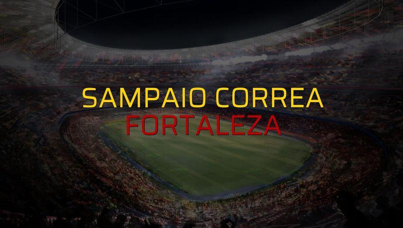Sampaio Correa - Fortaleza düellosu