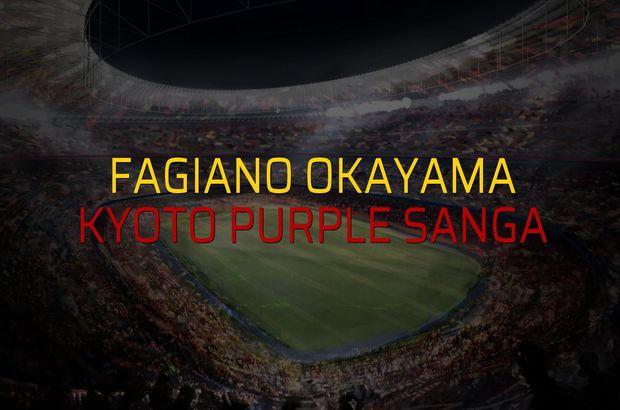 Fagiano Okayama - Kyoto Purple Sanga düellosu
