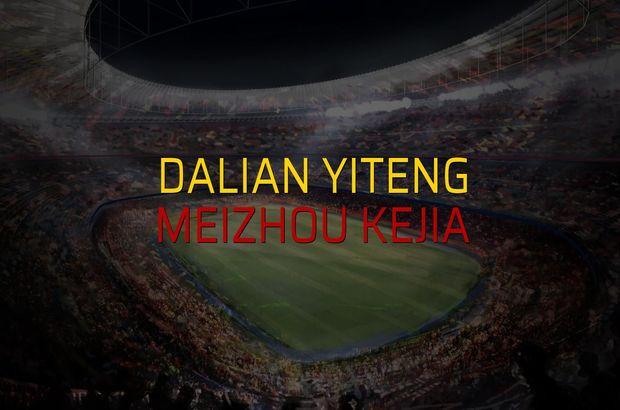 Dalian Yiteng - Meizhou Kejia maçı heyecanı