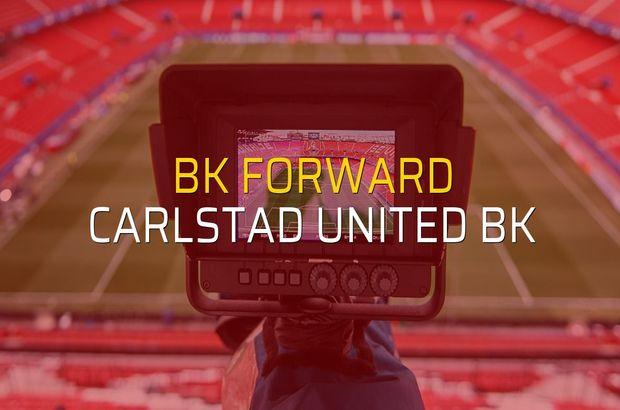 BK Forward - Carlstad United BK düellosu