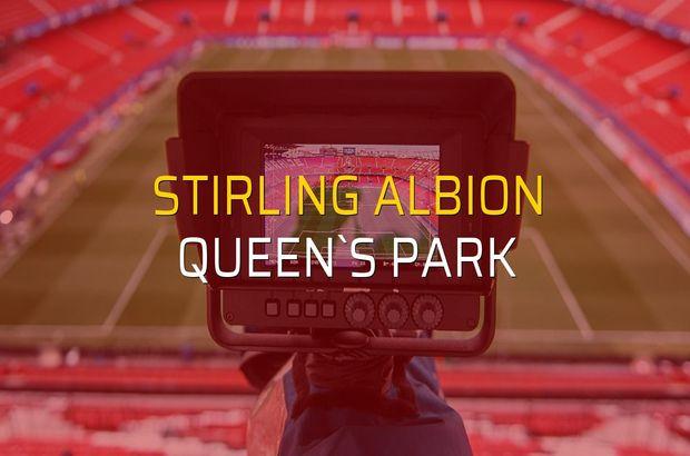 Stirling Albion - Queen`s Park karşılaşma önü