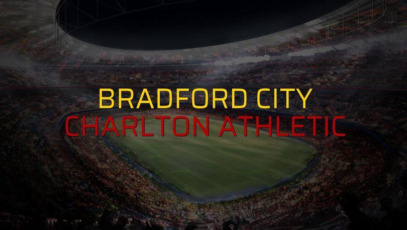Bradford City - Charlton Athletic maçı heyecanı