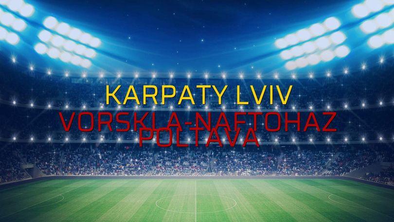 Karpaty Lviv - Vorskla-Naftohaz Poltava maçı heyecanı