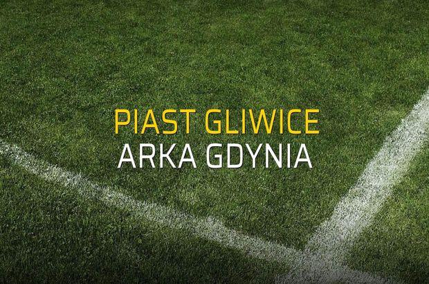 Piast Gliwice - Arka Gdynia maçı heyecanı
