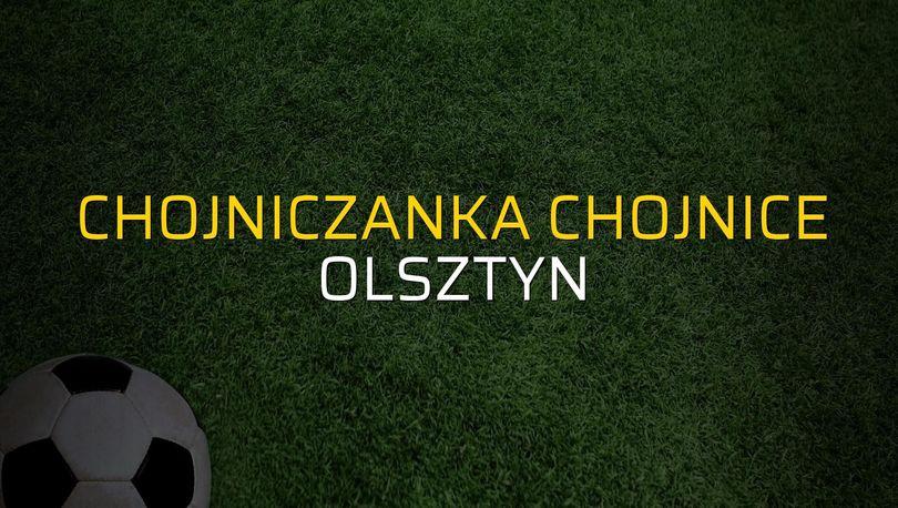 Chojniczanka Chojnice - Olsztyn maçı heyecanı