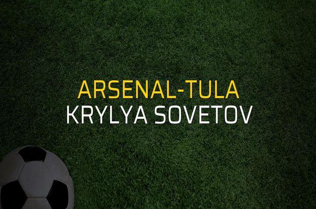 Arsenal-Tula - Krylya Sovetov maçı rakamları
