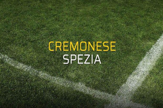 Cremonese - Spezia maçı öncesi rakamlar