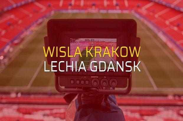 Wisla Krakow - Lechia Gdansk maçı heyecanı