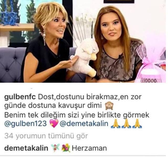 Gülben Ergen - Demet Akalın dostluğu yeniden - Magazin haberleri