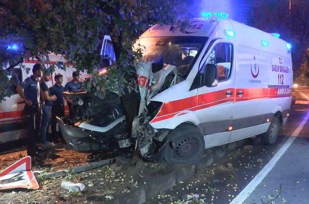 Şişli Ambulans kazası