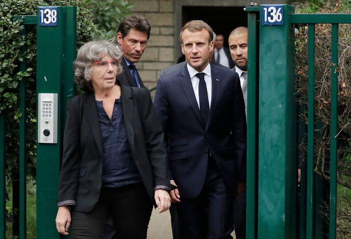 Josette Audin, Fransa Cumhurbaşkanı Macron