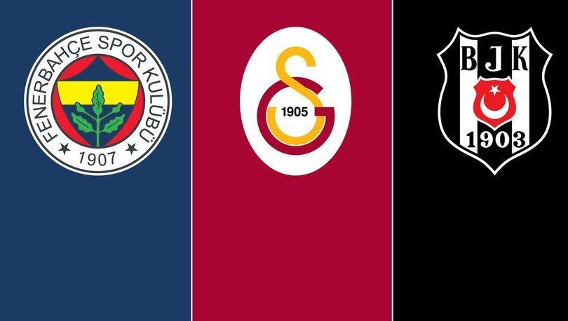 Fenerbahçe, Galatasaray ve Beşiktaş