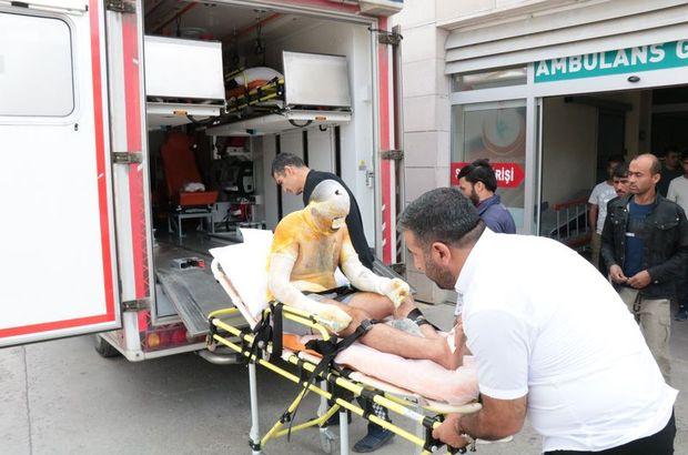 Kırşehir'de tuz ocağında patlama: 3 yaralı