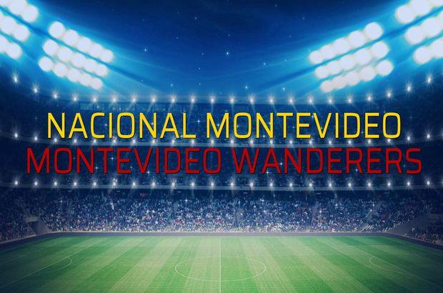 Nacional Montevideo - Montevideo Wanderers rakamlar