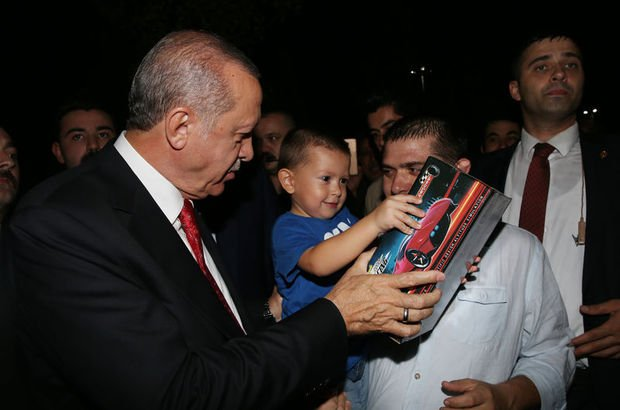 Cumhurbaşkanı Erdoğan'dan vatandaşlara sürpriz!