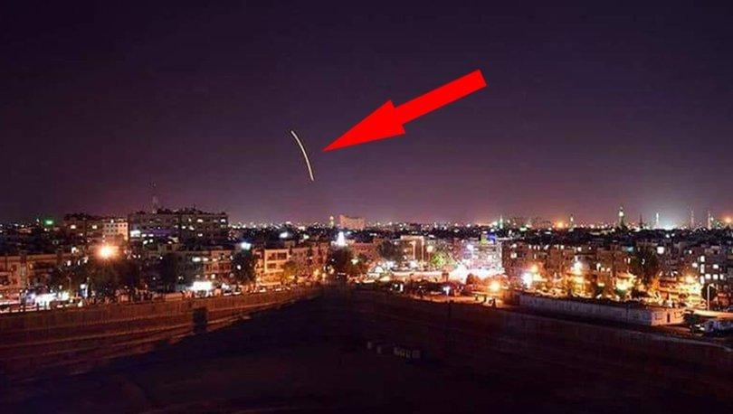 Son dakika:İsrail Suriye'yi vurdu! Esad kontrolündeki Şam Havalimanı'nda patlama sesleri