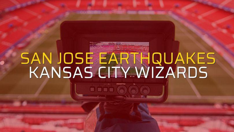San Jose Earthquakes - Kansas City Wizards düellosu