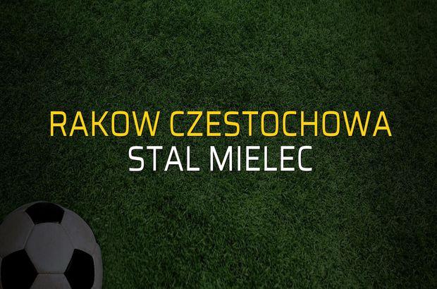Rakow Czestochowa - Stal Mielec maçı öncesi rakamlar