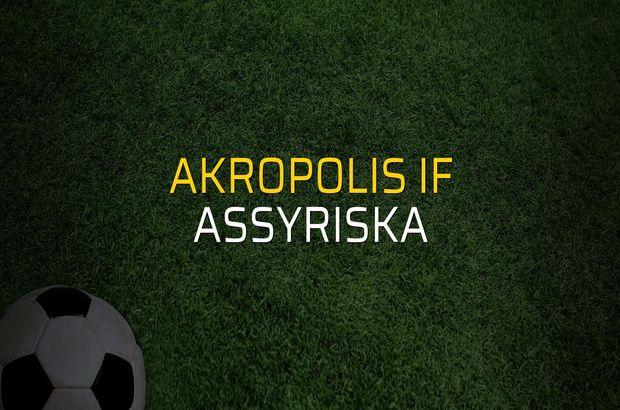 Akropolis IF - Assyriska sahaya çıkıyor