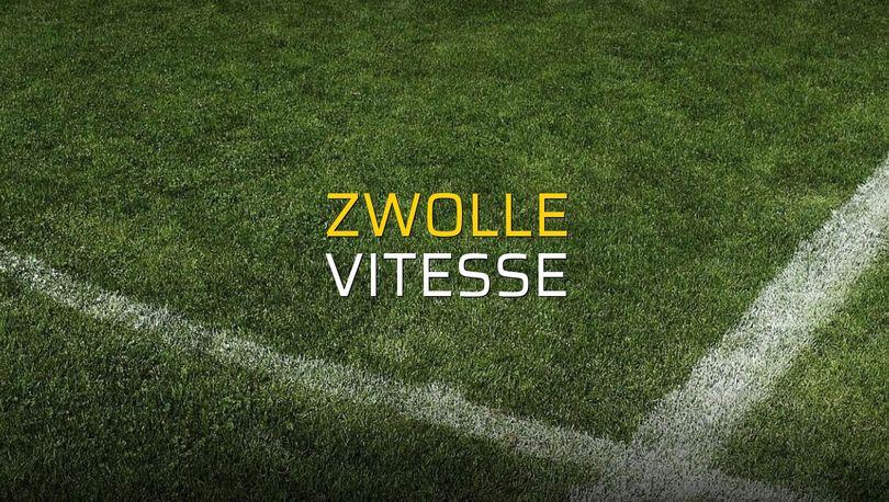 Zwolle - Vitesse maçı heyecanı