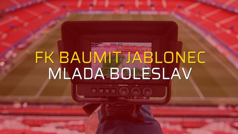 FK Baumit Jablonec - Mlada Boleslav düellosu