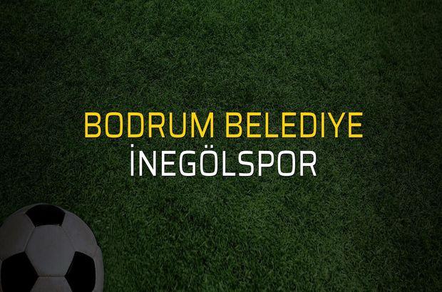 Bodrum Belediye - İnegölspor maçı ne zaman?