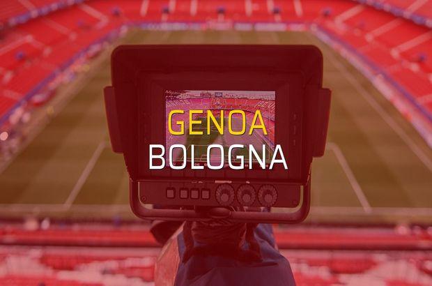 Genoa - Bologna maçı heyecanı