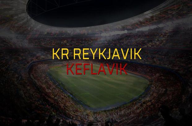 KR Reykjavik - Keflavik sahaya çıkıyor