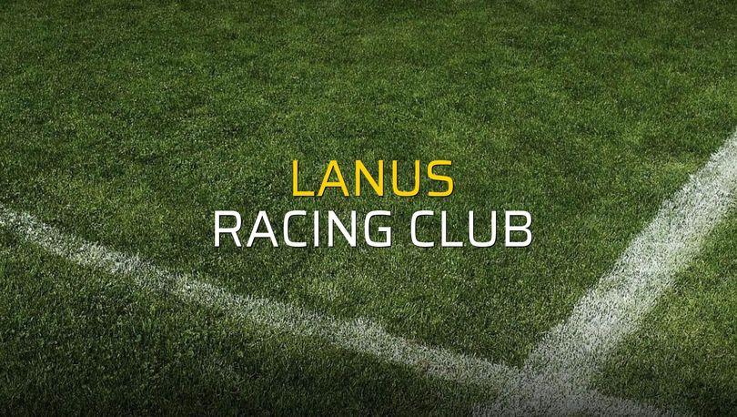 Lanus - Racing Club maç önü