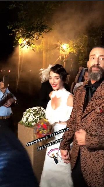 Yunus Günçe sevgilisi Işık Selin Kuyumcu ile evlendi - Magazin haberleri
