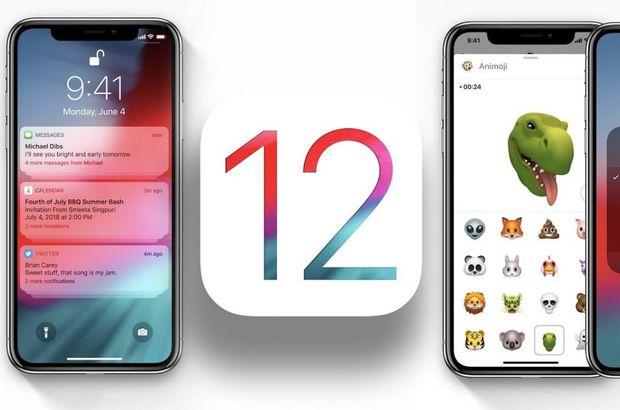 iPhone'a önemli güncelleme iOS 12 yayınlandı!