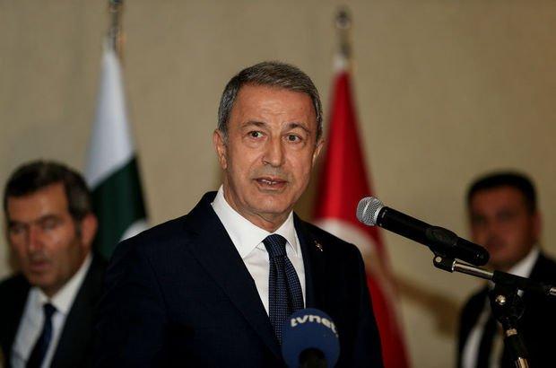 Milli Savunma Bakanı Akar'dan İdlib açıklaması!