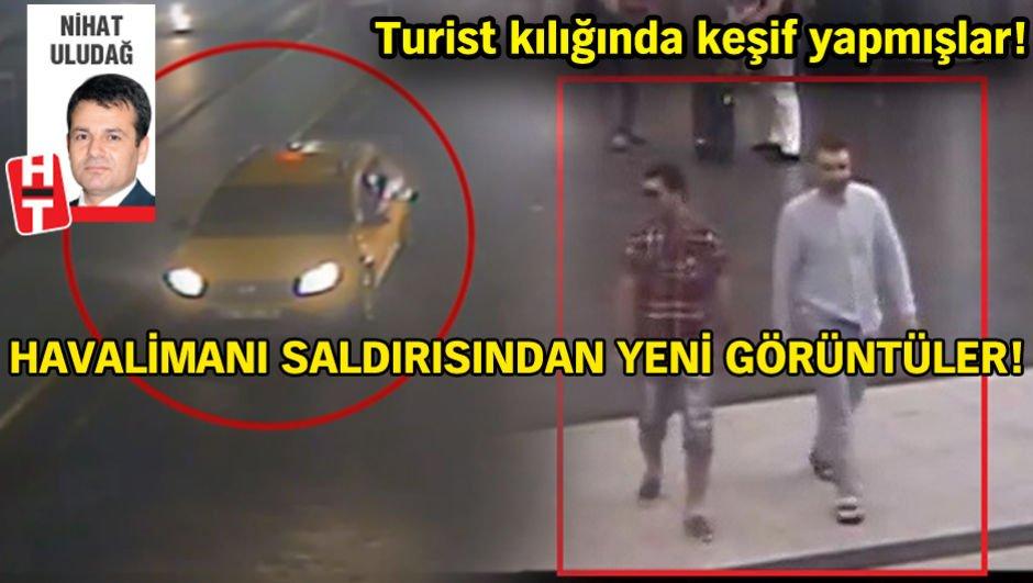 Atatürk Havalimanı katliamının yeni görüntüleri