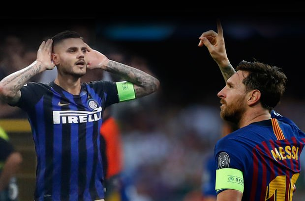 Messi'den rekor, Inter'den muhteşem dönüş!