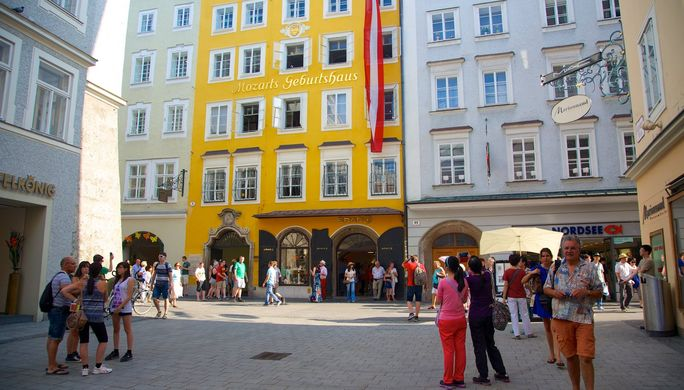 Mozart'ın evi, Salzburg