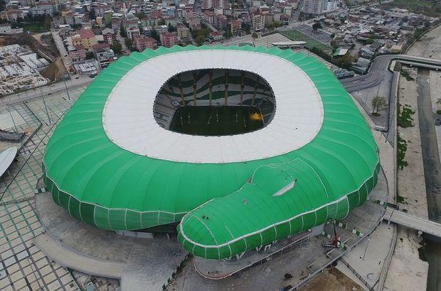 Bursa stadı için müjde!