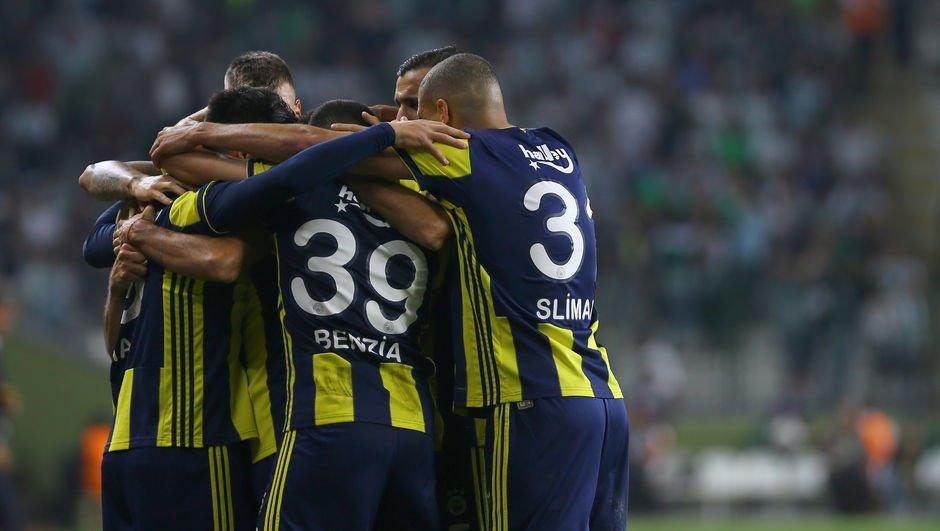 Fenerbahçe'nin grup mücadelesi kolay geçiyor