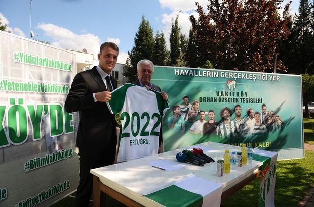Bursaspor Ertuğrul'la sözleşme uzattı