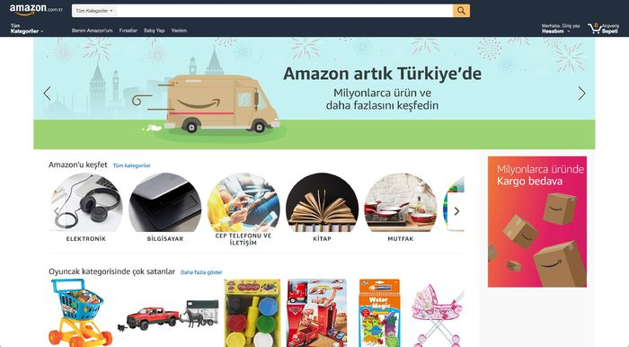 """ea8753262efdd Konuya yakın taraflar, yaşanan bu durumun, bir süredir """"Açıldı, açılacak""""  denilen Amazon'un daha da gecikmeden bir an önce Türkiye pazarına girmek ..."""