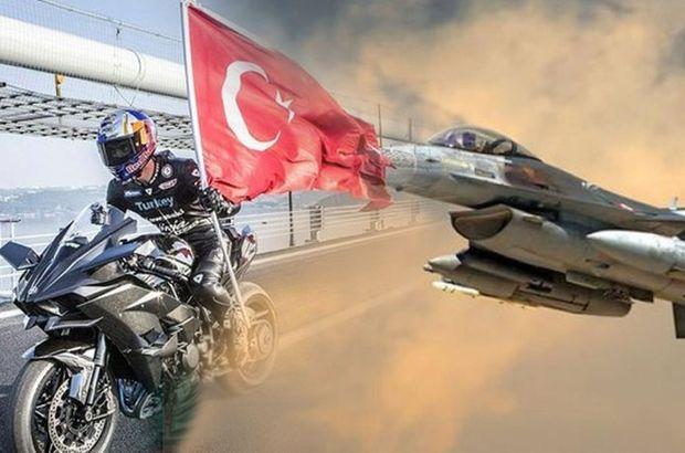 Sofuoğlu vs F-16! Prova yapıldı