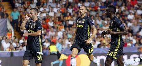 Juventus, Valencia karşılaşmasında ilk düdük çaldı!
