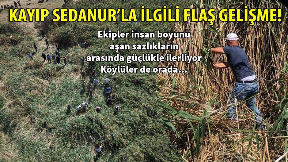 Kars'ta kaybolan 9 yaşındaki Sedanur'la ilgili flaş gelişme!