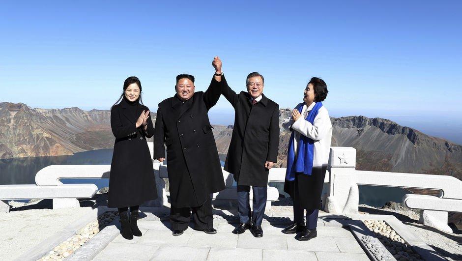 İki lider bu kez zirvede buluştu!
