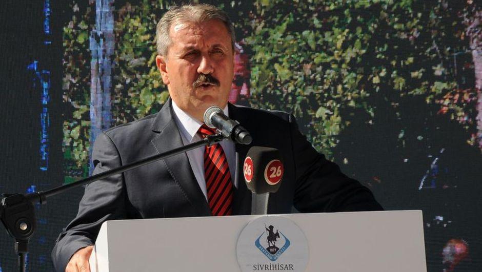 Bahçeli'nin ardından bir ittifak açıklaması da Destici'den