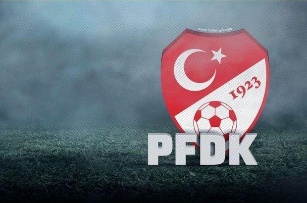 PFDK kararları Fenerbahçe Trabzonspor