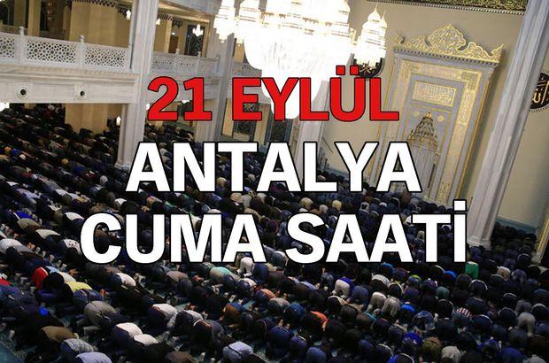 Antalya Cuma saati