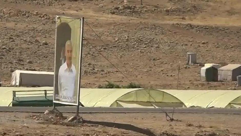 PKK'ya bağlı teröristler Sincar'da görüntülendi!