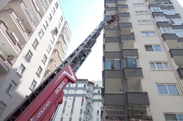 9'uncu katta 'banyo' operasyonu!