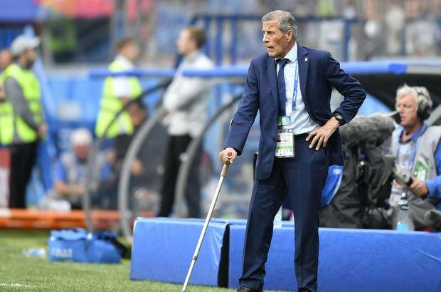 Uruguay milli takımı teknik direktör Oscar Tabarez